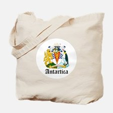 Antarctican Coat of Arms Seal Tote Bag