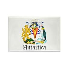 Antarctican Coat of Arms Seal Rectangle Magnet