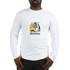 Antarctican Coat of Arms Seal Long Sleeve T-Shirt