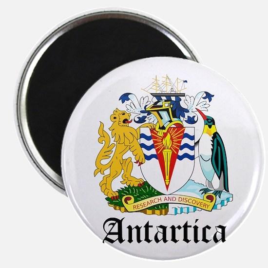"Antarctican Coat of Arms Seal 2.25"" Magnet (10 pac"