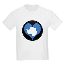 I love Antarctica Flag T-Shirt