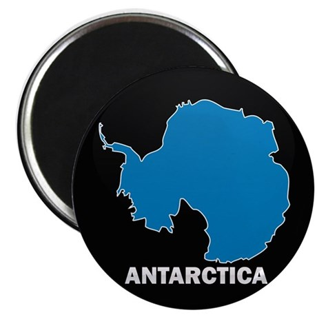 "Flag Map of Antarctica 2.25"" Magnet (100 pack)"