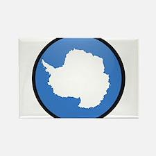 Antarctica Rectangle Magnet