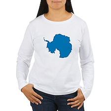 Antarctica Flag Map T-Shirt