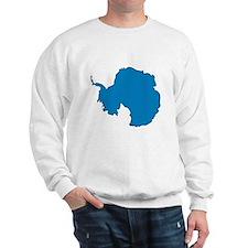 Antarctica Flag Map Sweatshirt