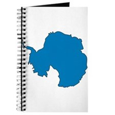Antarctica Flag Map Journal