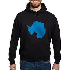 Antarctica Flag Map Hoodie