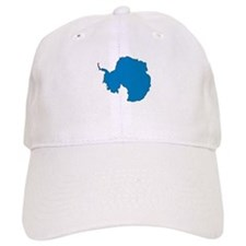 Antarctica Flag Map Baseball Cap