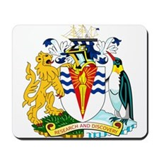 Antarctica Coat of Arms Mousepad