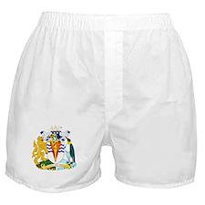 Antarctica Coat of Arms Boxer Shorts