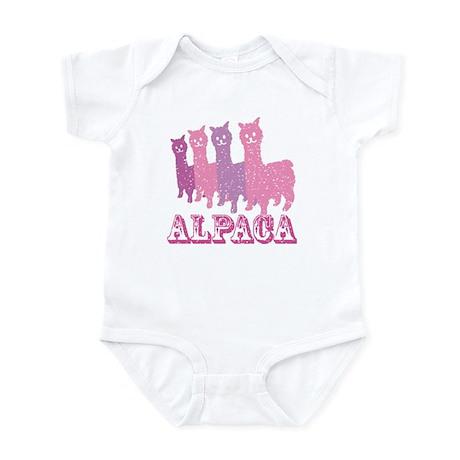 Alpaca 4 P Infant Bodysuit