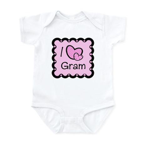 I Love Gram Infant Bodysuit