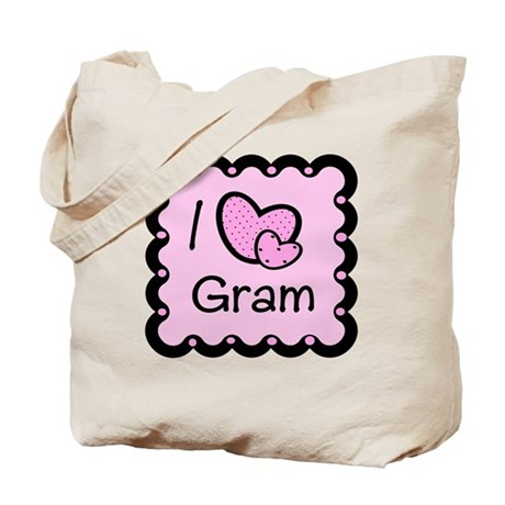 I Love Gram Tote Bag