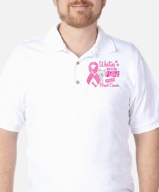 Westies Against Breast Cancer 2 T-Shirt