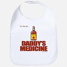 Whiskey Lover's Daddy's Medicine  Bib