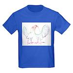 Neon Gamefowl Kids Dark T-Shirt