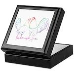 Neon Gamefowl Keepsake Box