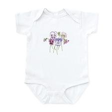 Pretty Pansy Infant Bodysuit