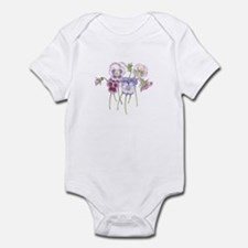 Pretty Pansy Infant Bodysuit