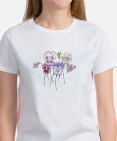 Pretty Pansy Women's T-Shirt