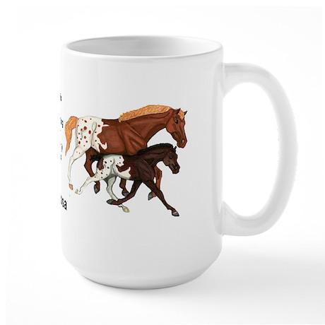 Appaloosa Horses Large Mug