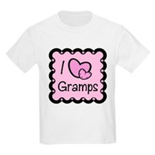 I Love Gramps T-Shirt