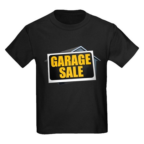 Garage Sale Kids Dark T-Shirt