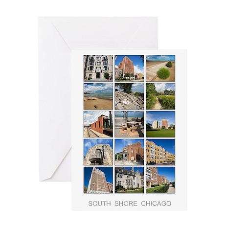 3x5 photo grid Greeting Card