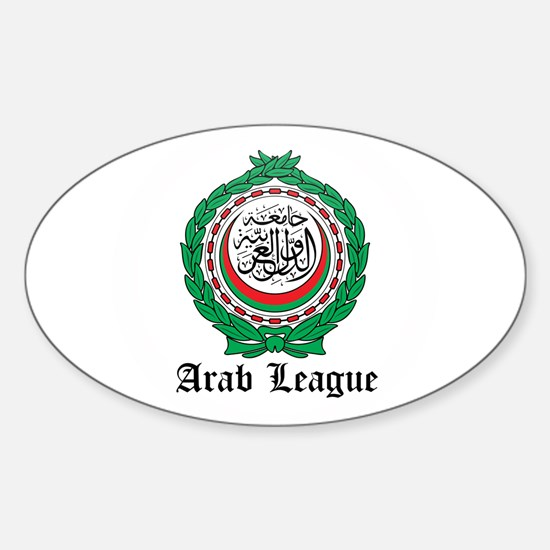 Arab Coat of Arms Seal Oval Decal