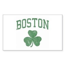 Boston Irish Rectangle Decal