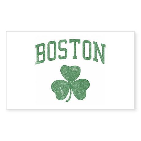 Boston Irish Rectangle Sticker