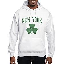 New York Irish Hoodie Sweatshirt