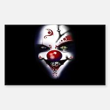 Evil Clown Decal
