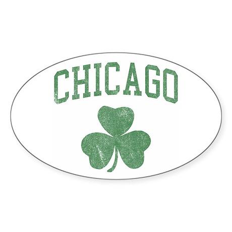 Chicago Irish Oval Sticker
