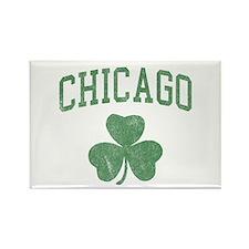 Chicago Irish Rectangle Magnet