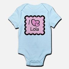 I Love Lolo Infant Bodysuit