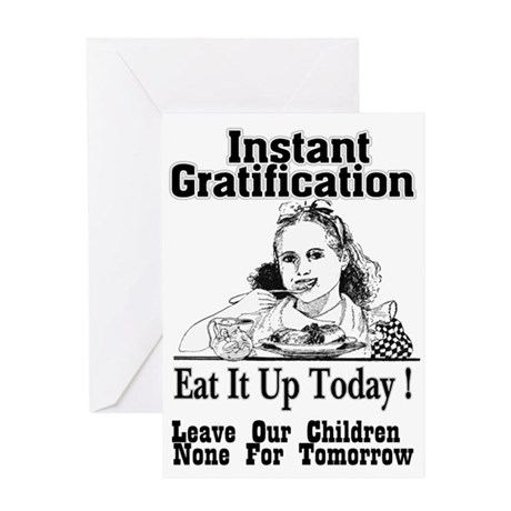 Eat It Up! Greeting Card