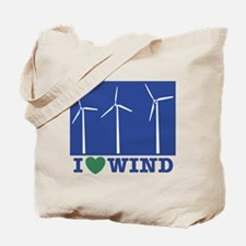 I Love Wind Tote Bag