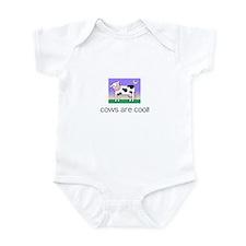 Cute Purple cow Infant Bodysuit