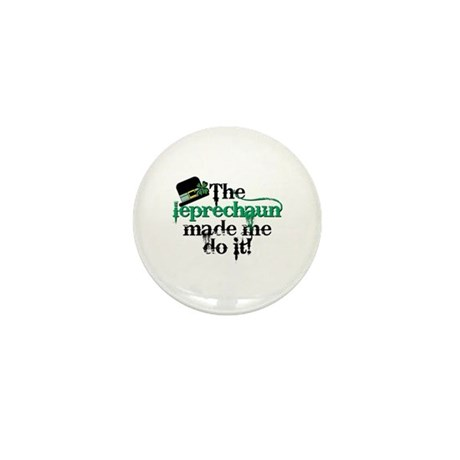 Leprechaun made me hat Mini Button (100 pack)