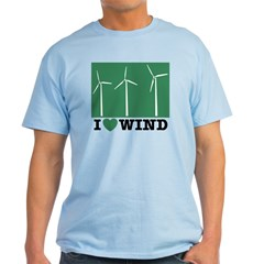 I Love Wind Light T-Shirt