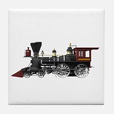 Locomotive Tile Coaster