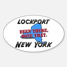 lockport new york - been there, done that Decal