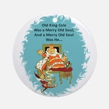 Old King Cole Ornament (Round)