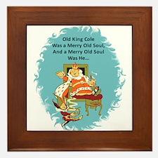 Old King Cole Framed Tile