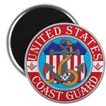 Coast Guard Masons Magnet
