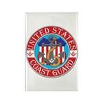 Coast Guard Masons Rectangle Magnet (100 pack)