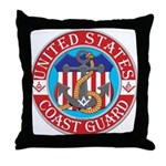 Coast Guard Masons Throw Pillow