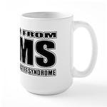 Tibetan Mastiff Large Mug