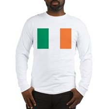 Irish Flag Long Sleeve T-Shirt